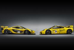 McLaren P1 GTR e McLaren F1