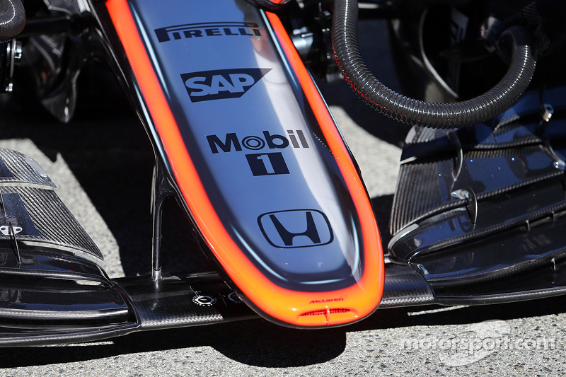 McLaren MP4-30 nosecone