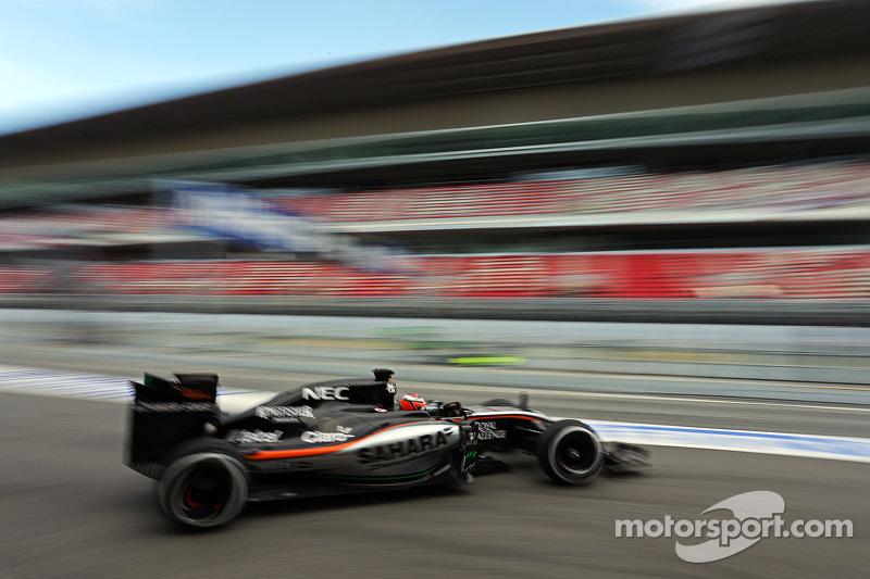 نيكو هلكنبرغ، سهارا فورس إنديا للفورمولا 1 على متن سيارة في جيه أم 08