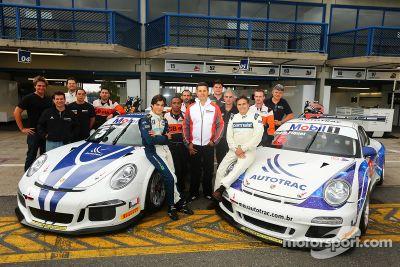 Porsche GT3 Cup Brazil: Nelson Piquet test
