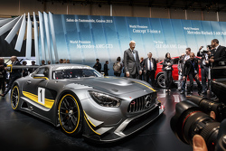 The Mercedes AMG GT4