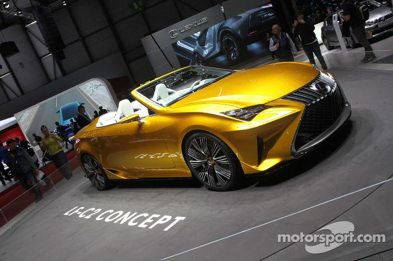 Lexus LF C2 Concept at Geneva International Auto Show