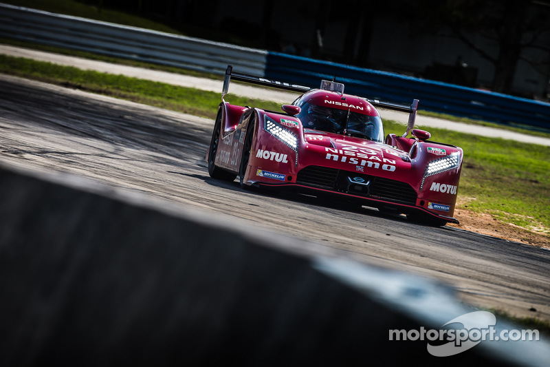 Nissan GT-R LM Nismo, Testfahrten