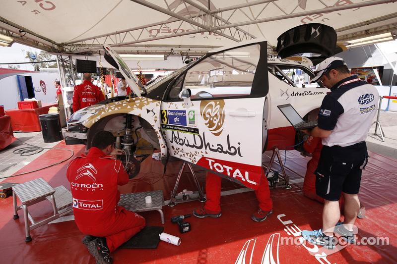 Kris Meeke und Paul Nagle, Citroën DS3 WRC, Citroën World Rally Team