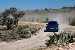 Volkswagen Motorsport drivers during recce