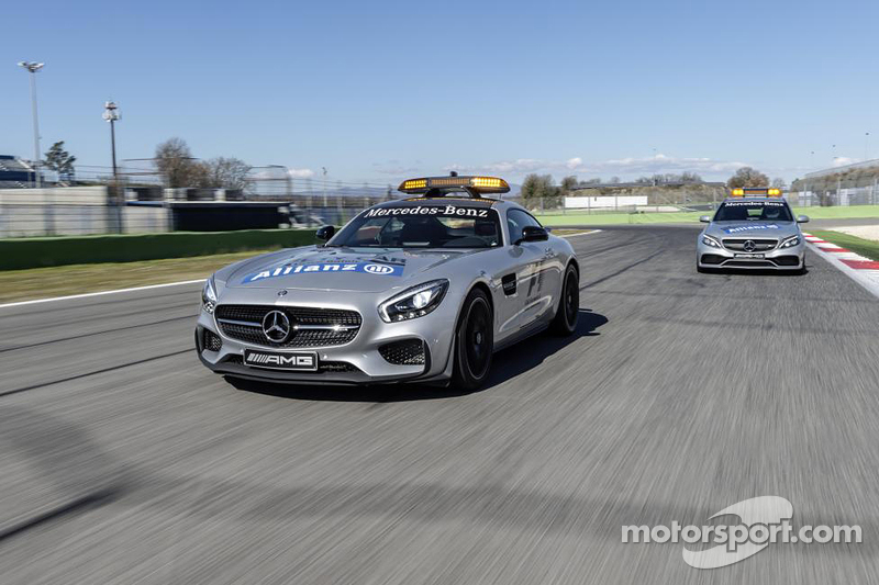 Mercedes-AMG GT S güvenlik aracı