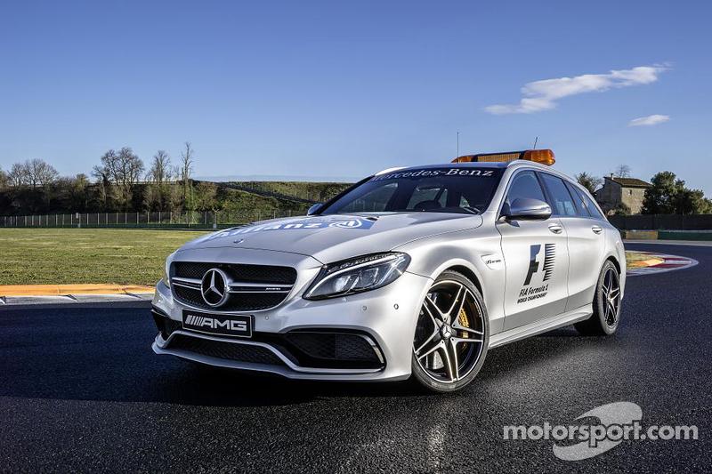 Mercedes AMG C 63 S tıbbi aracı