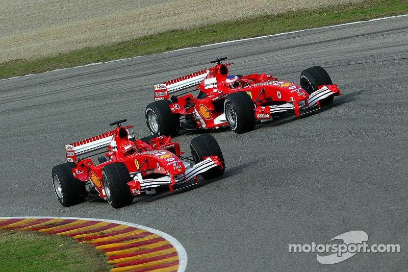 2005 - Рубенс Баррікелло, Ferrari