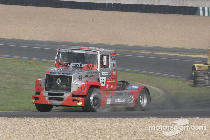 #14 Dominique Lacheze Renault: Dominique Lacheze