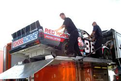 Unloading of Brandon Whitt's truck