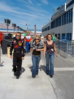Brandon Whitt, sister Brittany and mother Karen