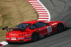 #11 Larbre Competition Ferrari 550 Maranello: Gabriele Gardel, Pedro Lamy