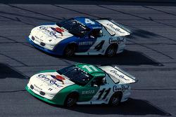 Steve Kinser and Bobby Hamilton