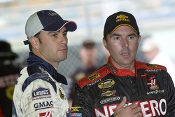 Jimmie Johnson and Mike Bliss