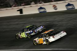 Jimmie Johnson and Dale Jarrett
