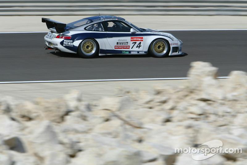 #74 Ebimotors Porsche 996 GT3-RSR: Luigi Moccia, Cristian Passutti