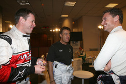 Colin McRae, Jean Alesi and David Coulthard