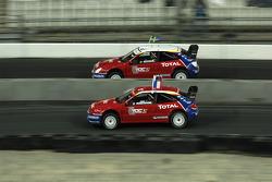 Final: Mattias Ekström and Stéphane Peterhansel