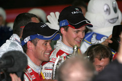 Nations Cup 2005 winners Tom Kristensen and Mattias Ekström