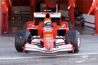 Valencia December testing