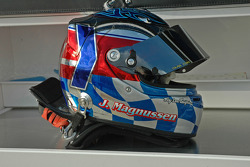 Jan Magnussen's helmet