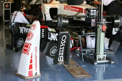 Honda Racing garage area