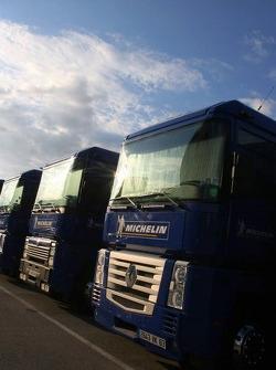Michelin transporters