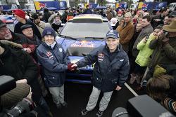 Volkswagen Motorsport departure in Wolfsburg: Fabrizia Pons and Jutta Kleinschmidt