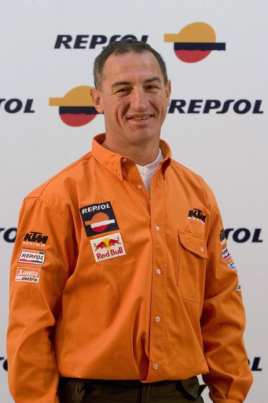 Présentation de l'équipe Repsol à Lisbonne: Giovanni Sala