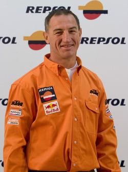 Team Repsol presentation in Lisbon: Giovanni Sala