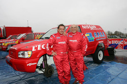 Team Nissan Dessoude presentation: Bernard Chevalier and René Metge