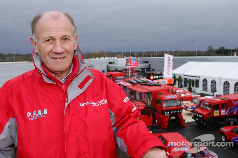 Présentation de l'équipe Nissan à Dessoude: André Dessoude