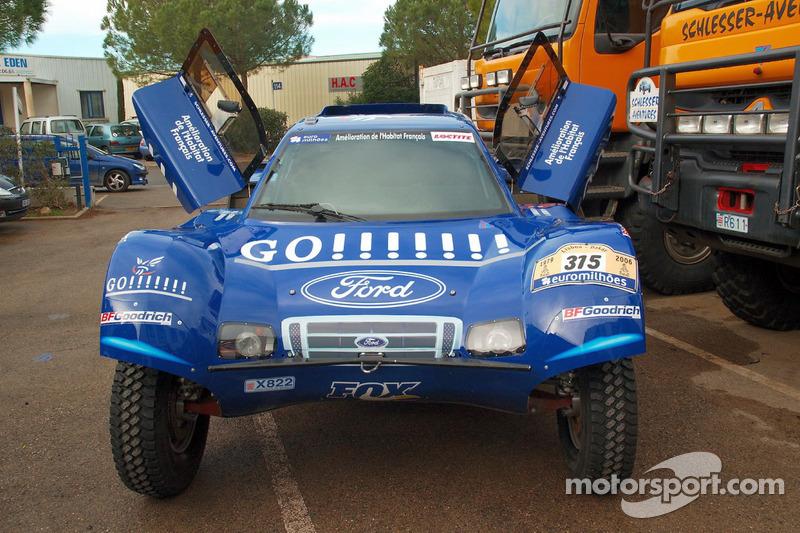 Team Gauloises Schlesser: le Schlesser-Ford Buggy
