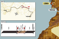 Stage 1: 2005-12-31, Lisboa to Portimão