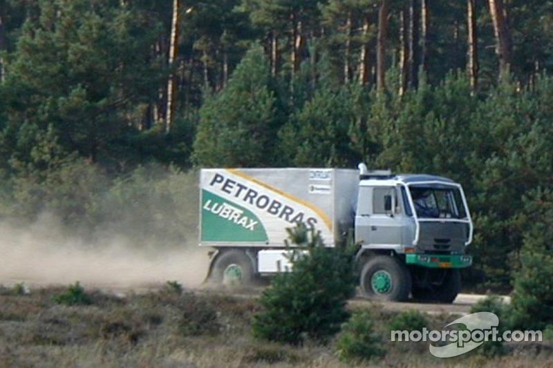 Equipe Tomas Tomecek Letka Racing: Andre De Azevedo, Jaromir Martinec et Maykel Justo essaient la Tatra 815 Dakar Terrno