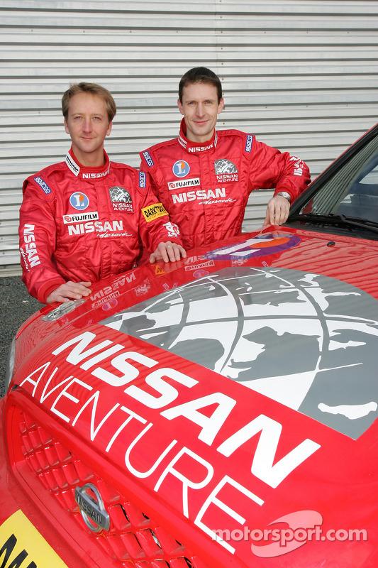 Présentation publique de l'équipe Nissan à Dessoude: Benoit Rousselot et Sylvain Poncet