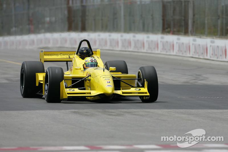 Champ Car 2-seater expérience: Alex Tagliani èmmene un invité sur la piste