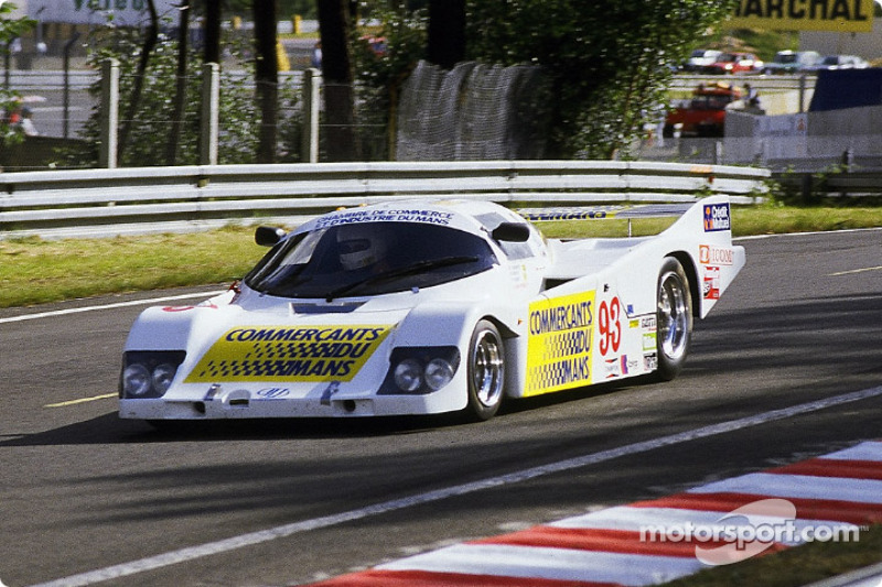 #93 Automobiles Louis Descartes ALD 01 BMW: Jacques Heuclin, Daniel Hubert, Louis Descartes