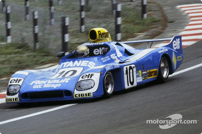 La Mirage M9 Renault n°10 Grand Touring Cars Inc. : Vern Schuppan, Jacques Laffite, Sam Posey