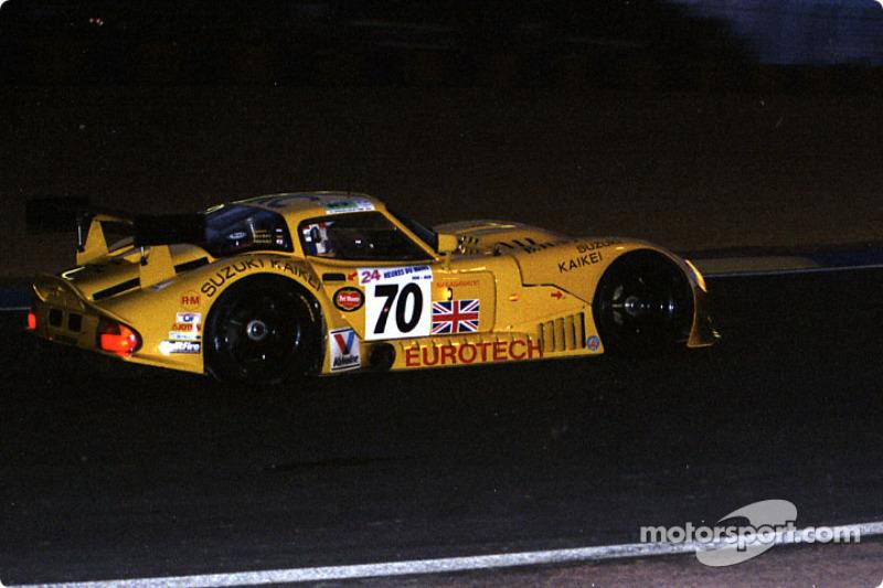 #70 Team Marcos Marcos Mantara LM600: Cor Euser, Harald Becker, Takaji Suzuki