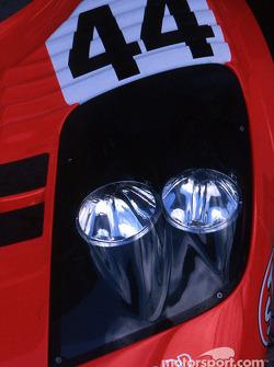 Headlights of the Team Lark McLaren McLaren F1 GTR BMW