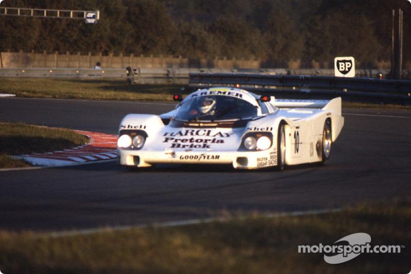 #10 Kremer Porsche Racing Porsche 956: Sarel van der Merwe, George Fouché, Mario Hytten