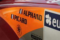 Detail of Luc Alphand's Mitsubishi Pajero Montero Evolution MPR12