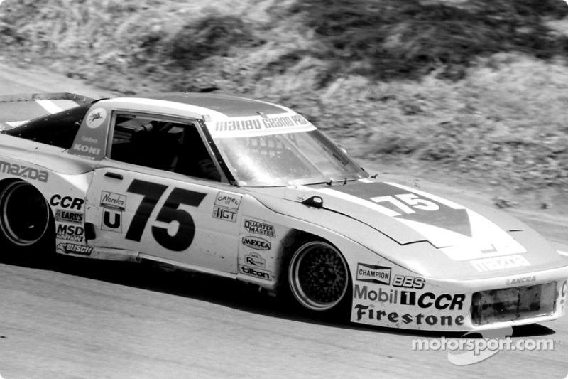 #75 Clayton Cunningham Mazda RX-7: Tom Kendall