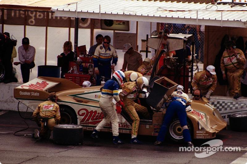 #14 Holbert Porsche 962: Al Holbert, Derek Bell, Chip Robinson