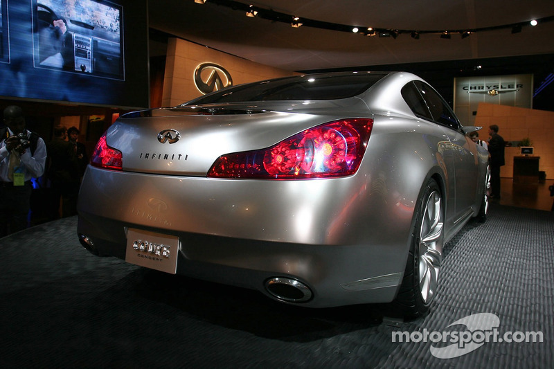 Infinity Coup Concept At North American International Auto Show