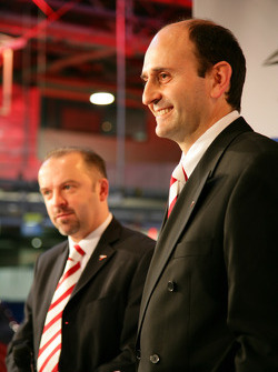 Mike Gascoyne and Luca Marmorini