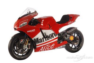 Présentation de la Ducati Desmosedici GP6 à Madonna di Campiglio