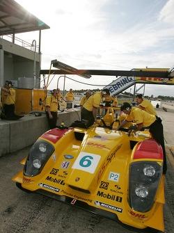 Penske Racing pit area