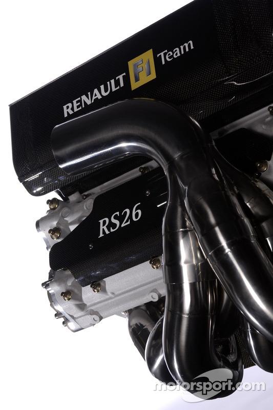 Le moteur V8 de la nouvelle Renault R26